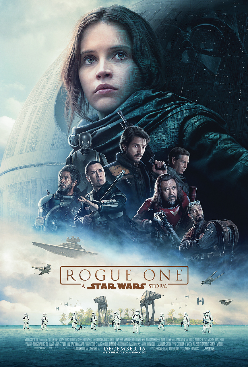 ROGUE ONE: A STAR WARS STORY – New Trailer, Poster & Images Now Available!!!  #RogueOne