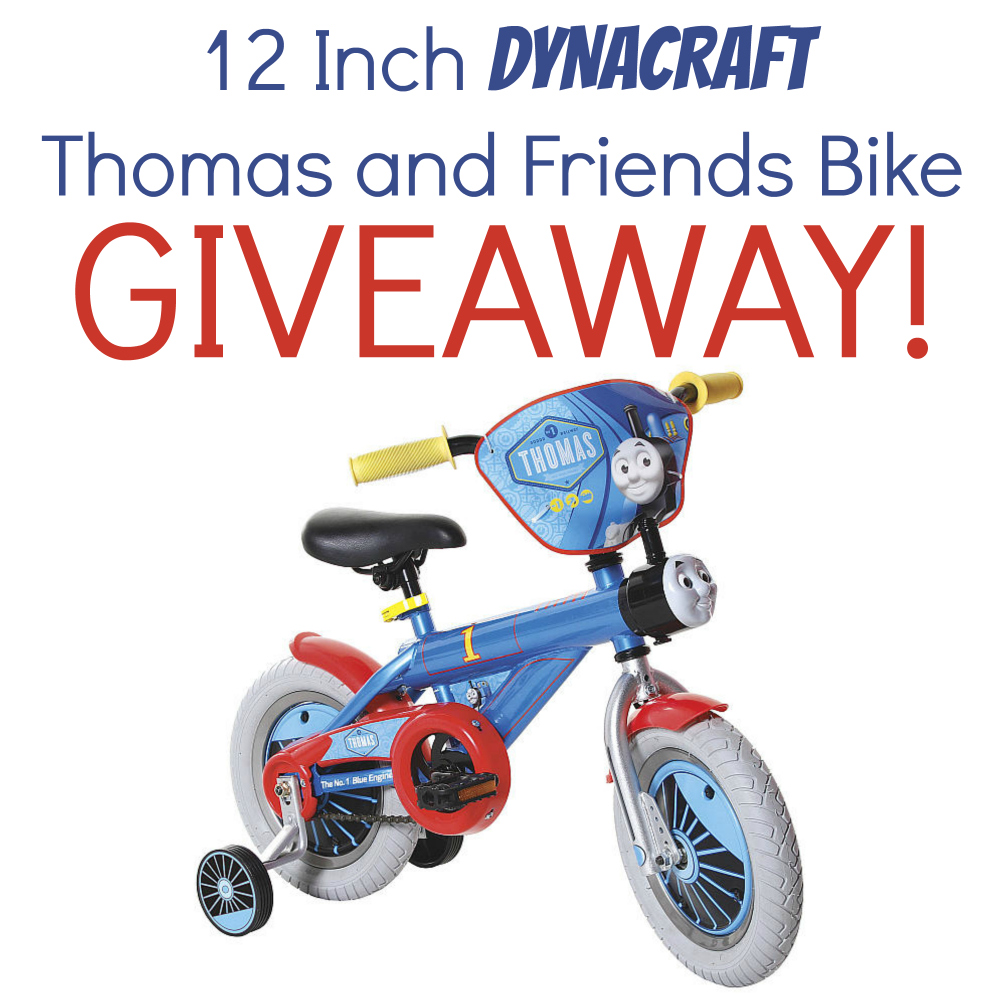 Dynacraft 12 Inch Thomas and Friends Bike Giveaway {US | Ends 10/20}