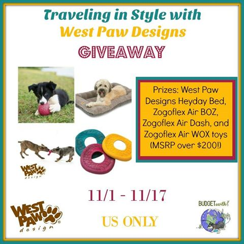 Traveling in Style with West Paw Giveaway {US | Ends 11/17}