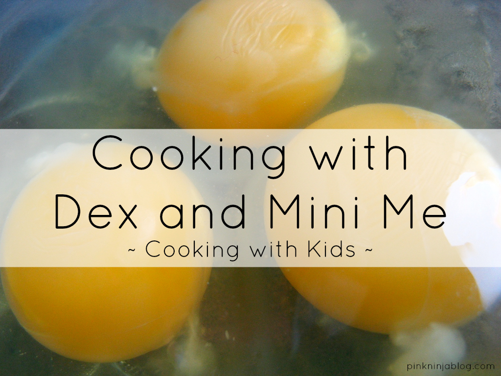 Cooking with Dex and Mini Me!
