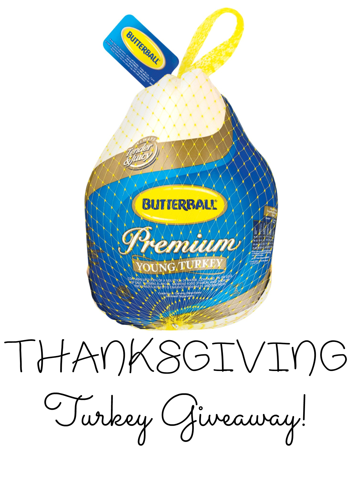 Butterball Turkey Giveaway {2 WINNERS | US | Ends 11/15}