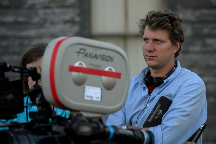 Director Jeff Nichols on the set of LOVING, a Focus Features release. Credit : Ben Rothstein / Focus Features