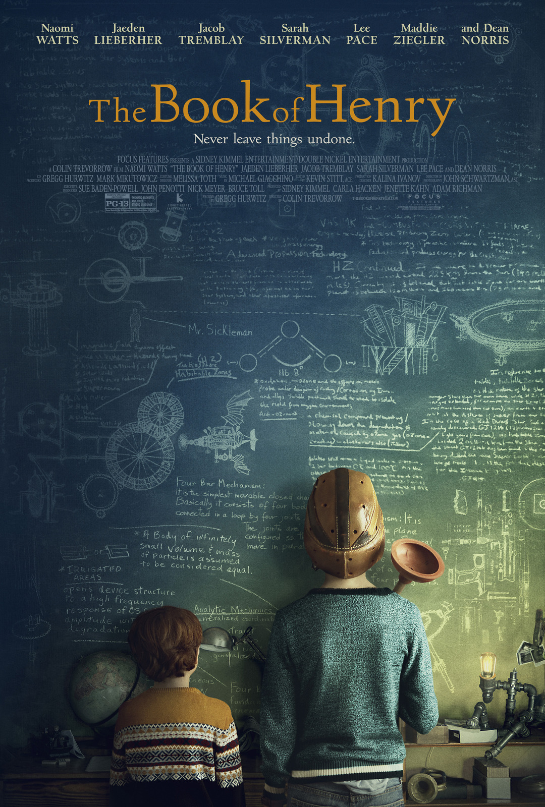 The Book of Henry ~ Poster Debut