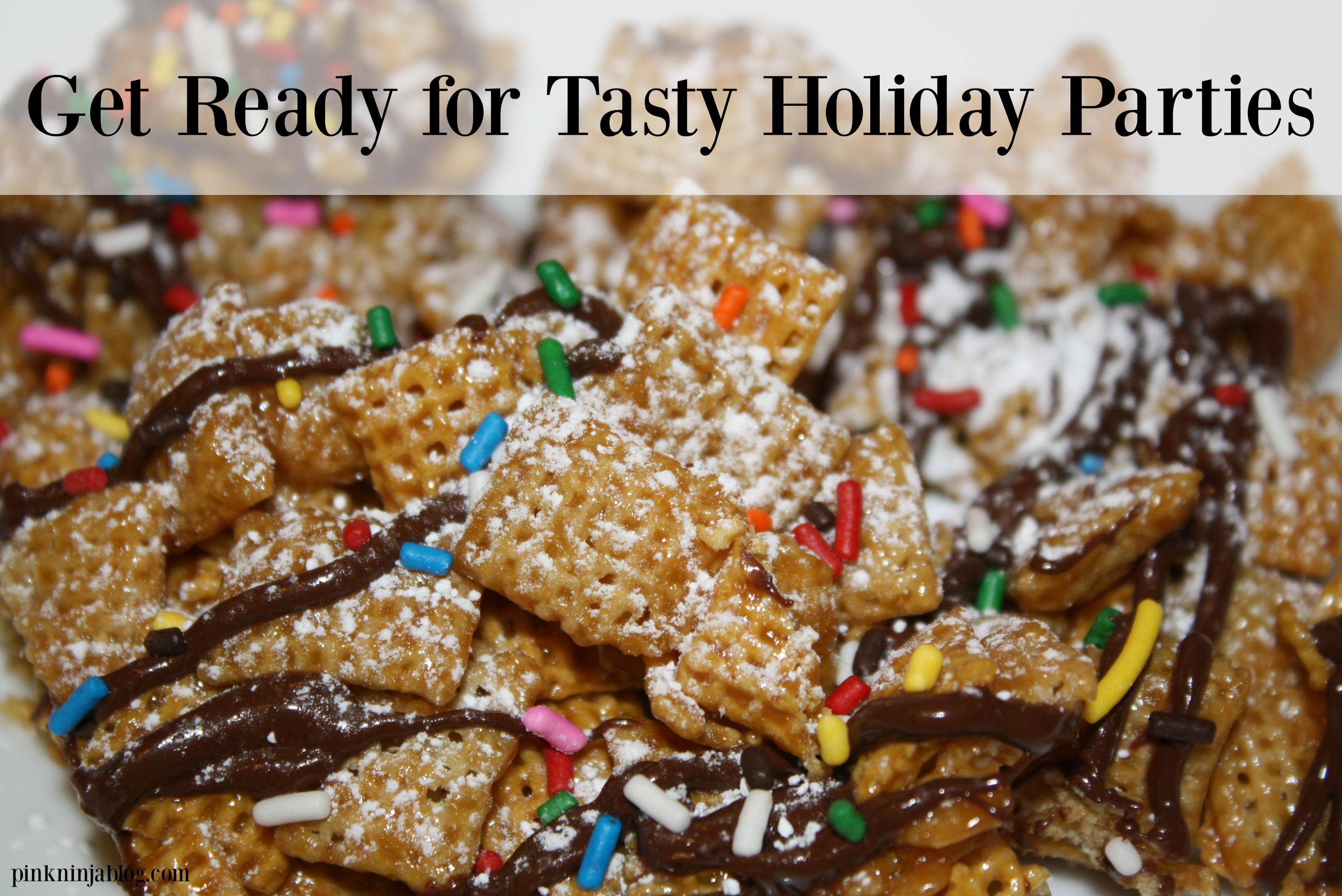 Tasty Holiday Parties with Chex Mix