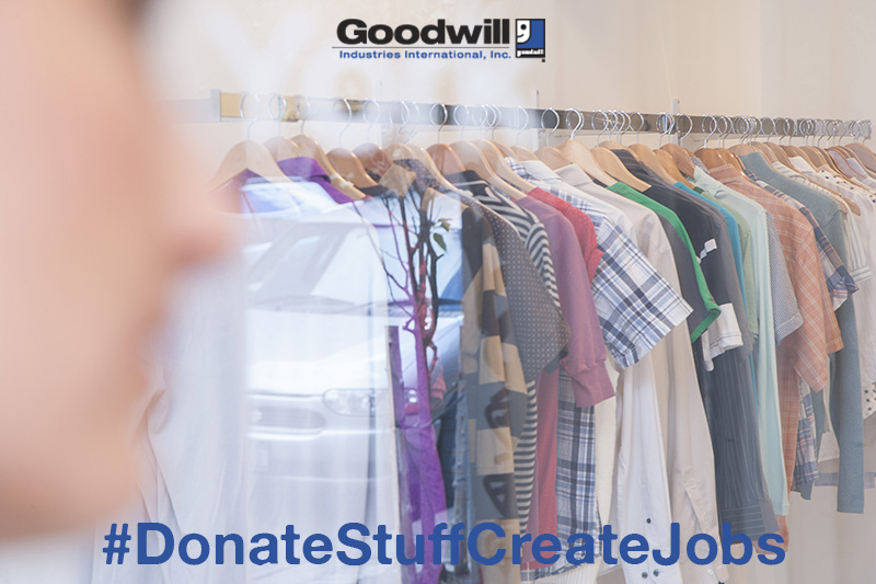 Shop or Donate with Goodwill ~ #DonateStuffCreateJobs