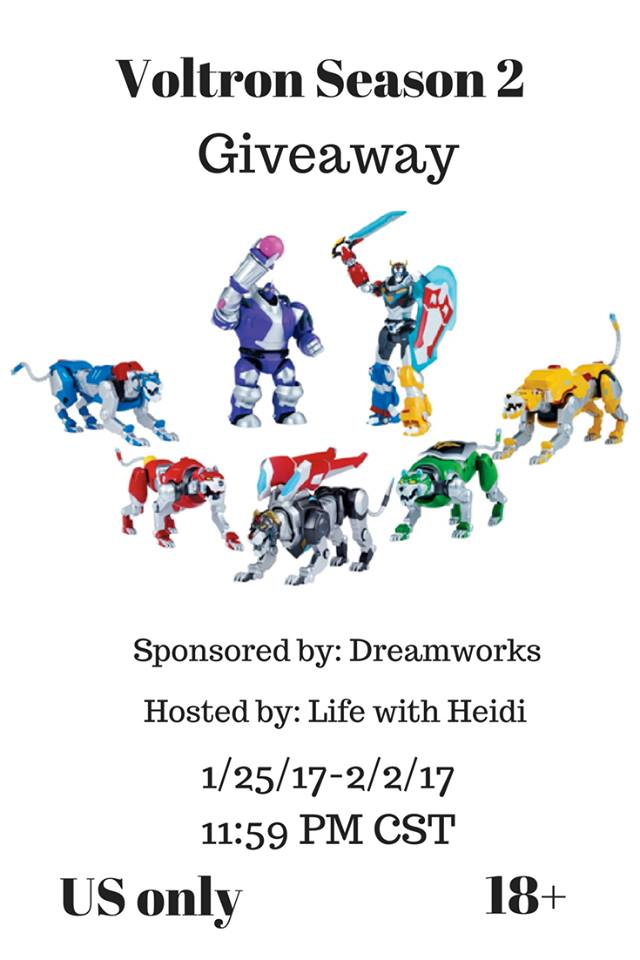 Voltron Season 2 Giveaway {US | Ends 02/02}