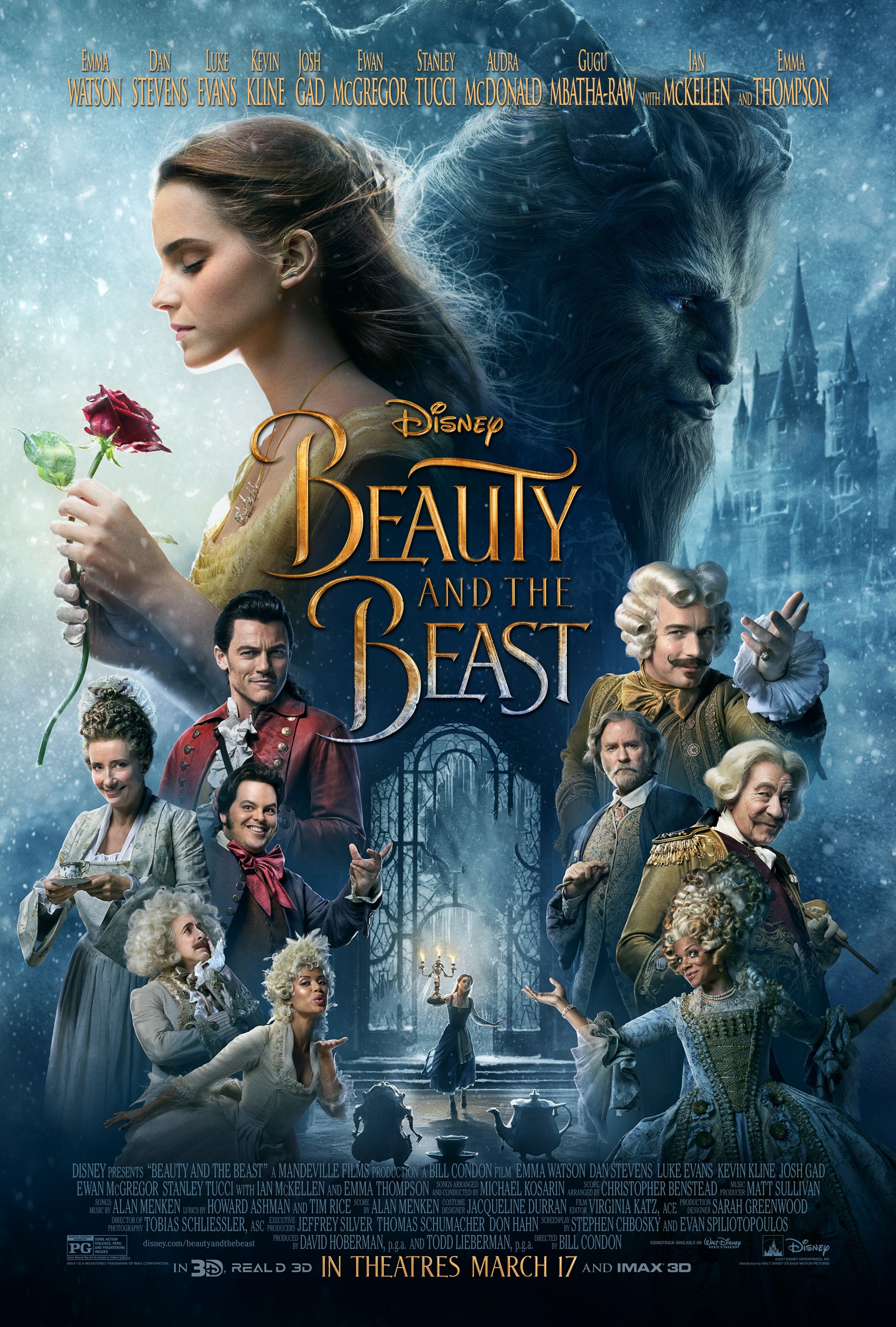 Disney's BEAUTY AND THE BEAST ~ TV Spot & Poster