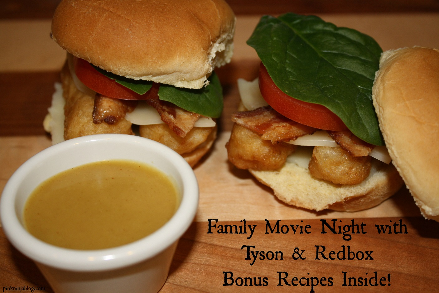 Family Movie Night with Tyson & Redbox {Bonus RECIPES Inside}