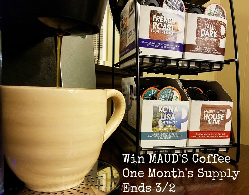 50 Pods of MAUD'S COFFEE Giveaway {US | Ends 03/02}