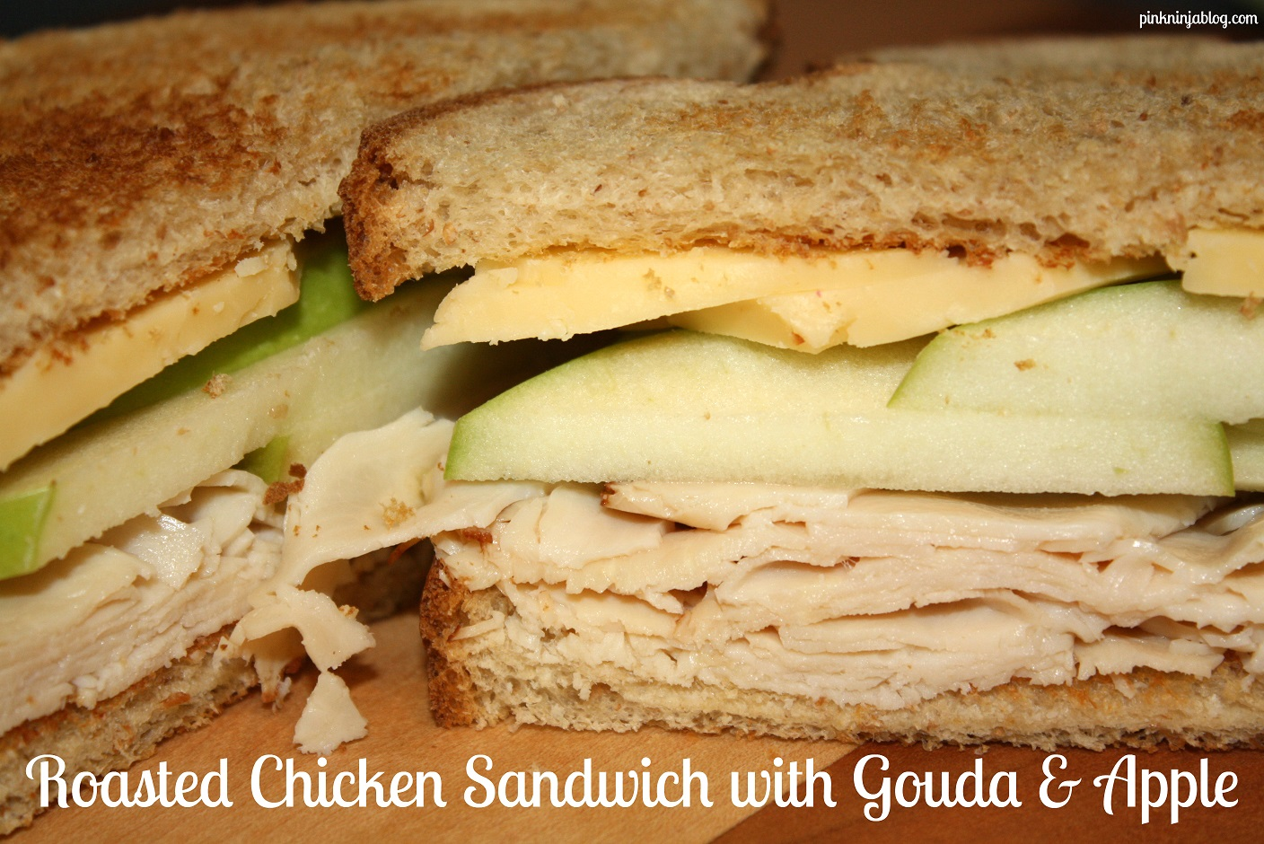 Roasted Chicken Sandwich with Gouda & Apple