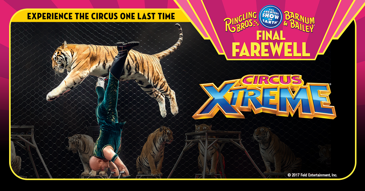 Ringling Bros. and Barnum & Bailey Circus XTREME Final Farewell in Cincinnati