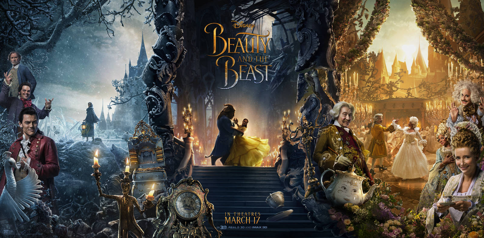 BEAUTY AND THE BEAST – Sing-Along Version Hits Theatres This Friday, April 7th!