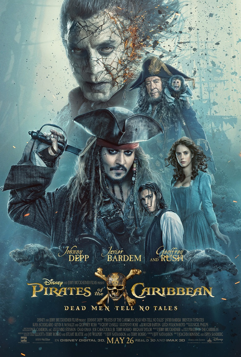 PIRATES OF THE CARIBBEAN: DEAD MEN TELL NO TALES ~ New Featurette and TV Spot