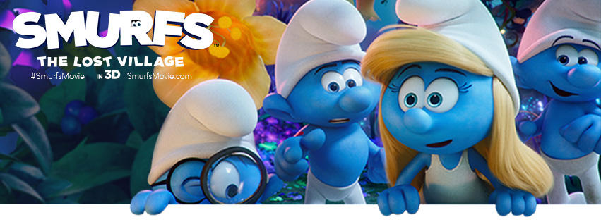 Smurfs: The Lost Village ~ Movie Review