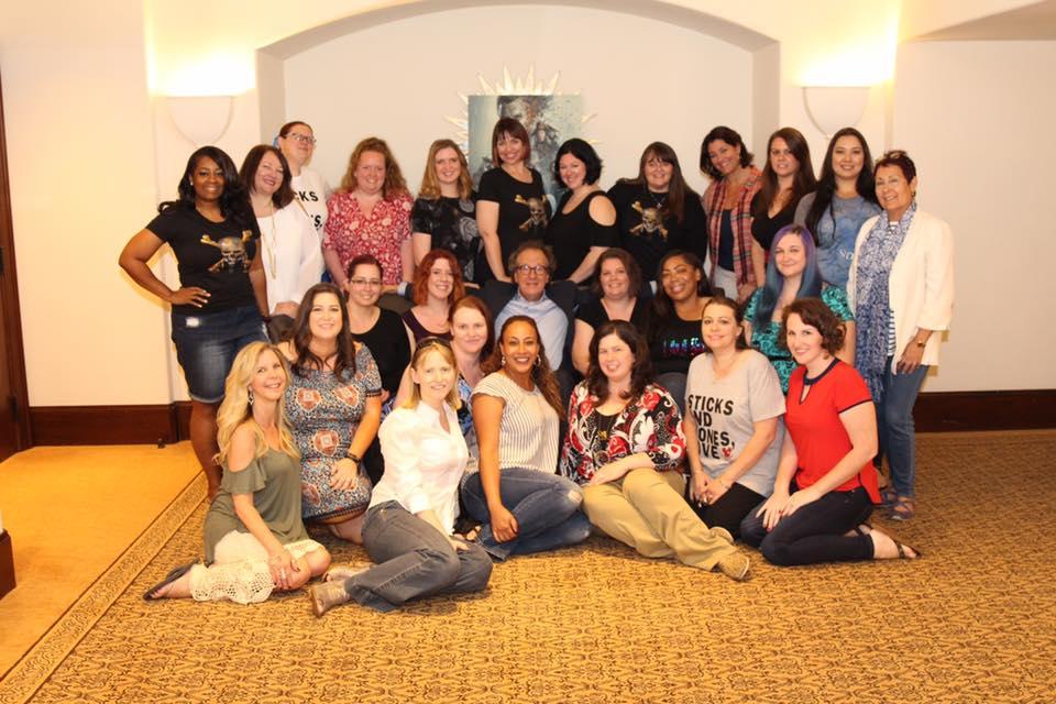 Geoffrey Rush & Mommy Bloggers