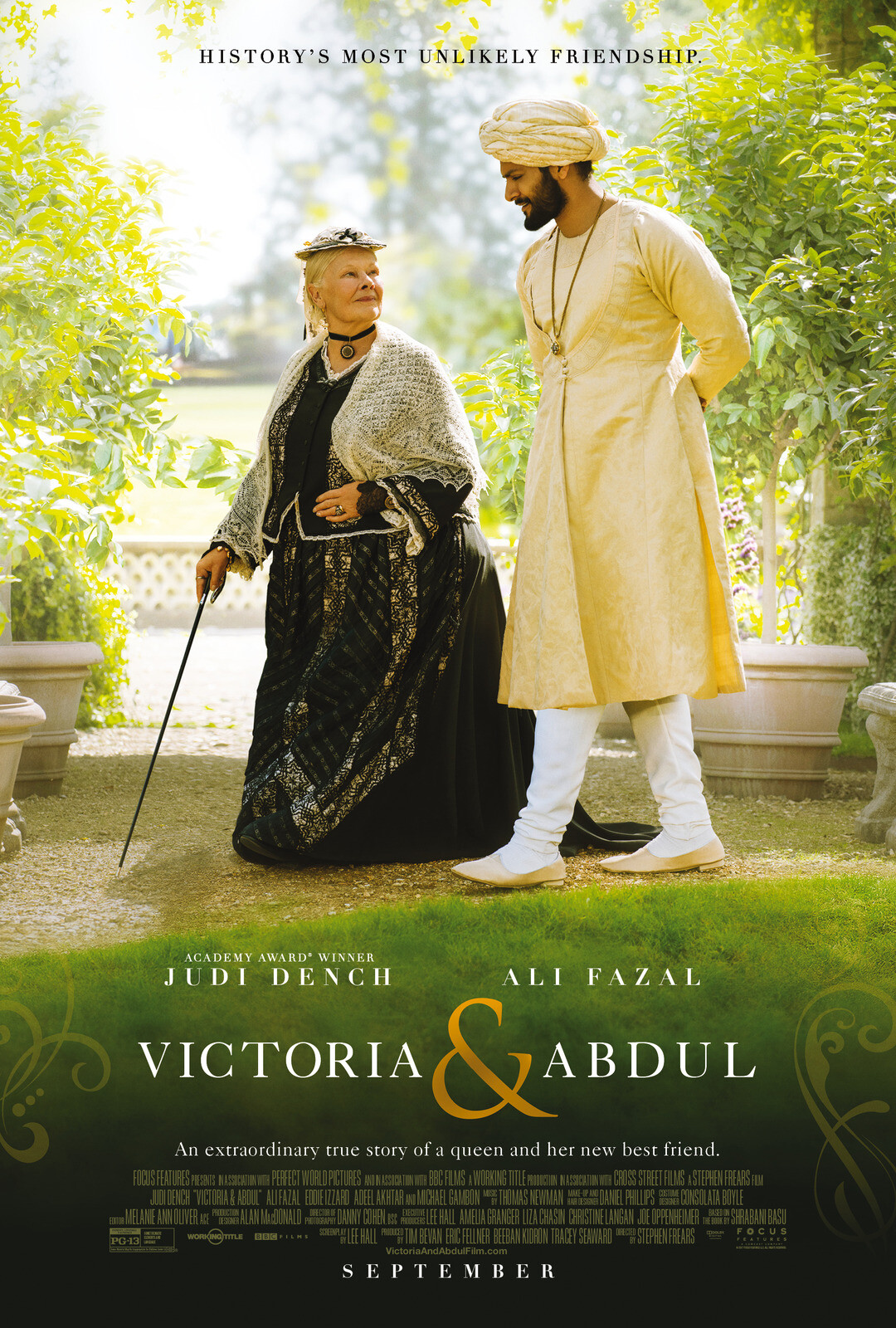 VICTORIA & ABDUL ~ Official Poster & Trailer