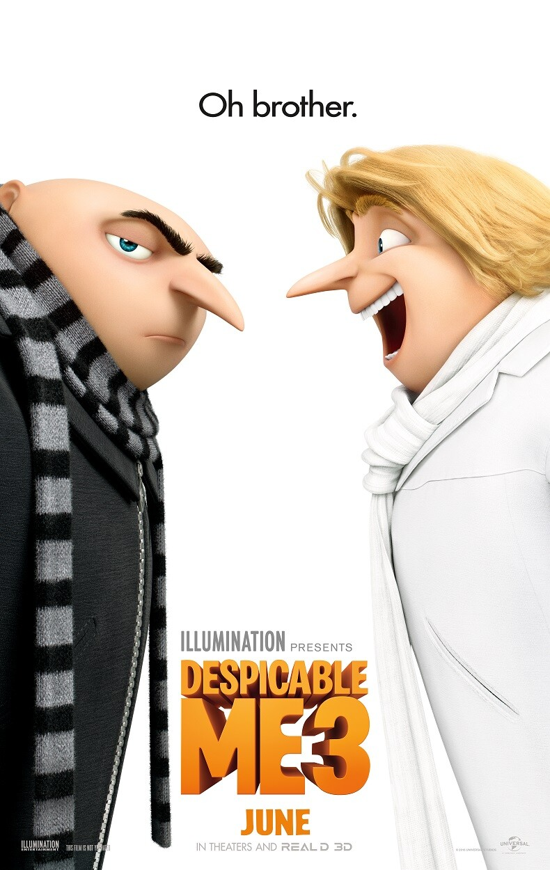 Movie Review ~ Despicable Me 3