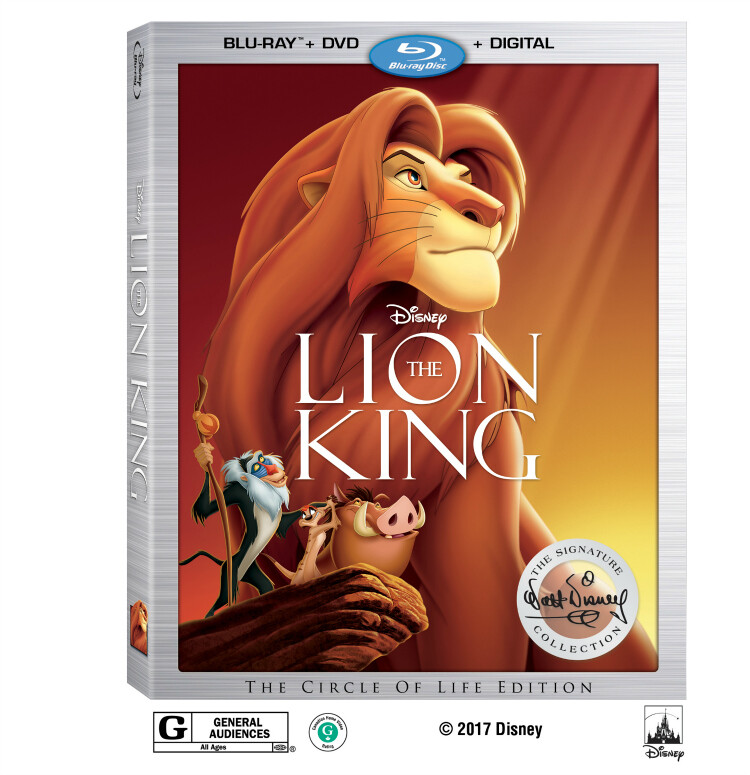 Disney's The Lion King on Digital Aug. 15 & Blu-ray Aug. 29