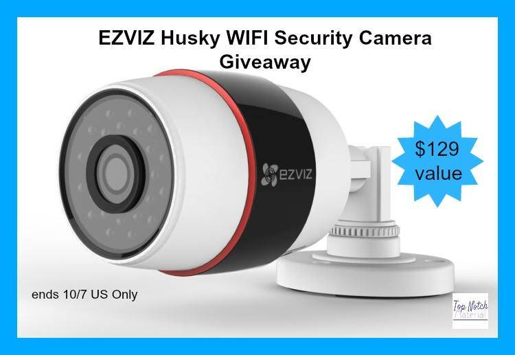 EZVIZ Husky Outdoor WiFi Security Camera Giveaway ($129) {US | Ends 10/07}