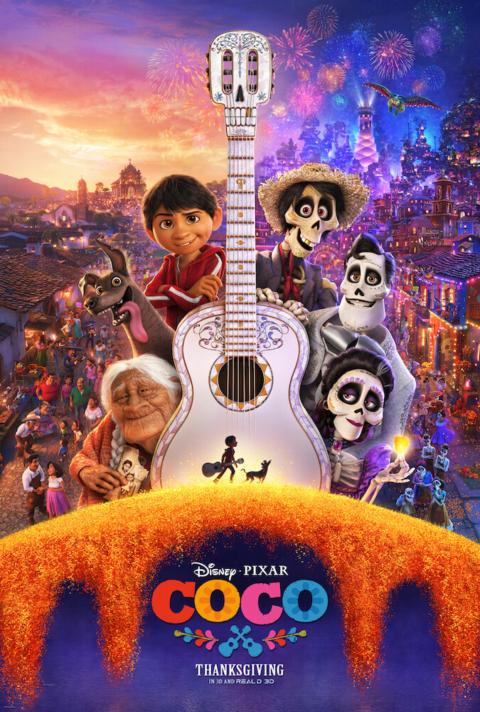 Disney•Pixar's COCO – New Trailer & Poster