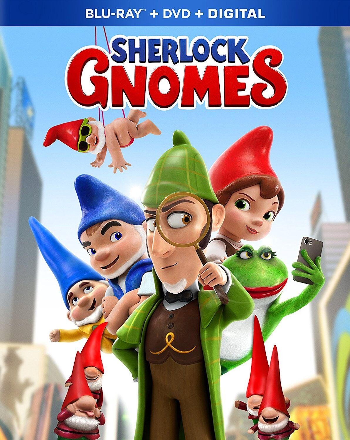 Sherlock Gnomes: Celebrate Summer with Family Movie Night