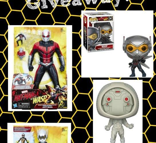 ANT-MAN AND THE WASP Giveaway {US – Ends 07/15}