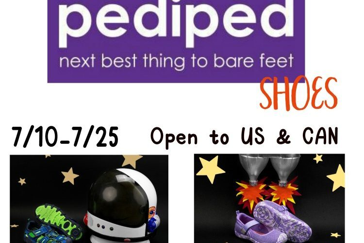 pediped Shoes Giveaway {US & CAN – Ends 07/25/18}