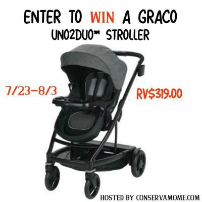 Graco UNO2DUO Stroller Giveaway {US | Ends 08/03}