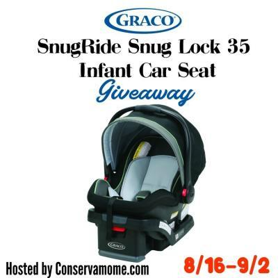 Graco SnugRide Infant Car Seat Giveaway {US | Ends 09/02}