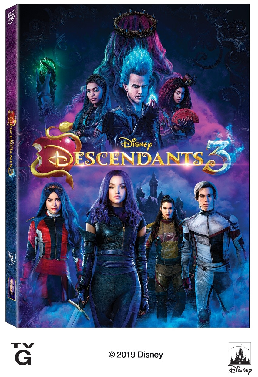Descendants 3 DVD Review Pink Ninja Blogger