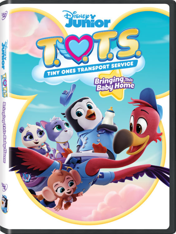 T O T S Bringing This Baby Home Disney Junior Dvd